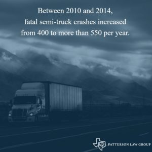 Fatal Texas truck accident statistics