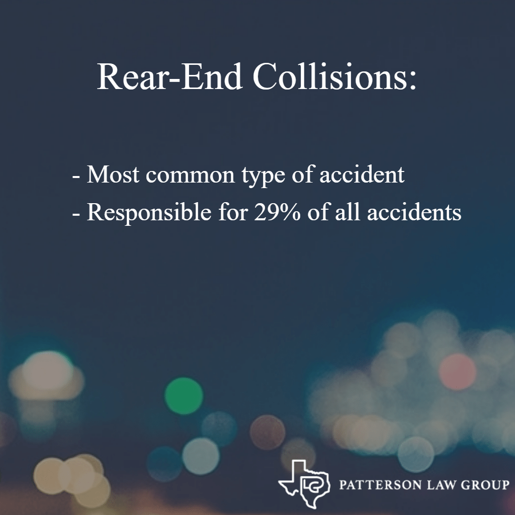 rear end collisions in texas