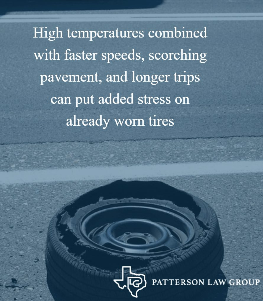 Tire Blowouts A Heightened Problem in the Summer  Texas