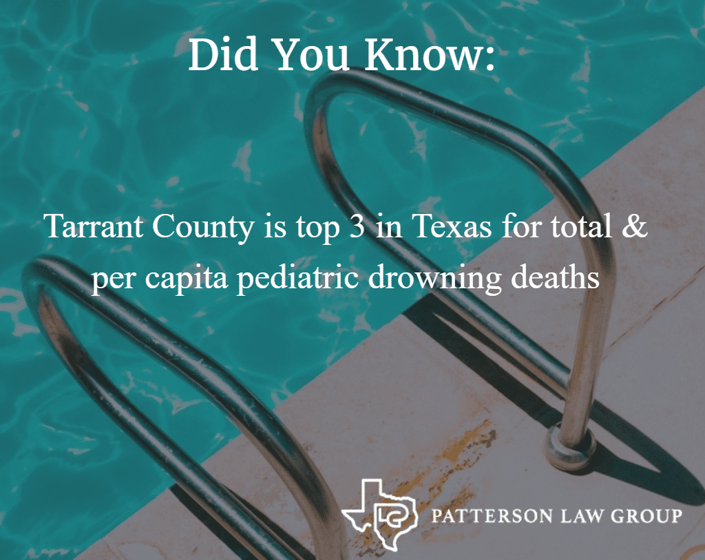 Child Safety In Pools And Lakes | Tarrant County, Texas