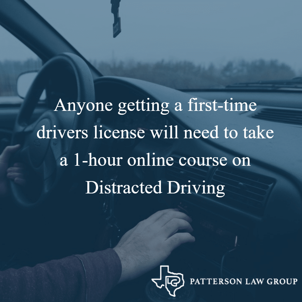 distracted driving online course