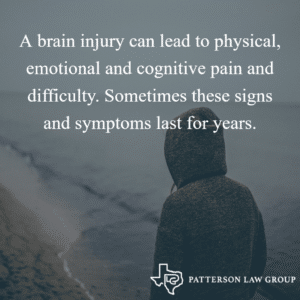 A brain injury can lead to physical, emotional and cognitive pain and difficulty