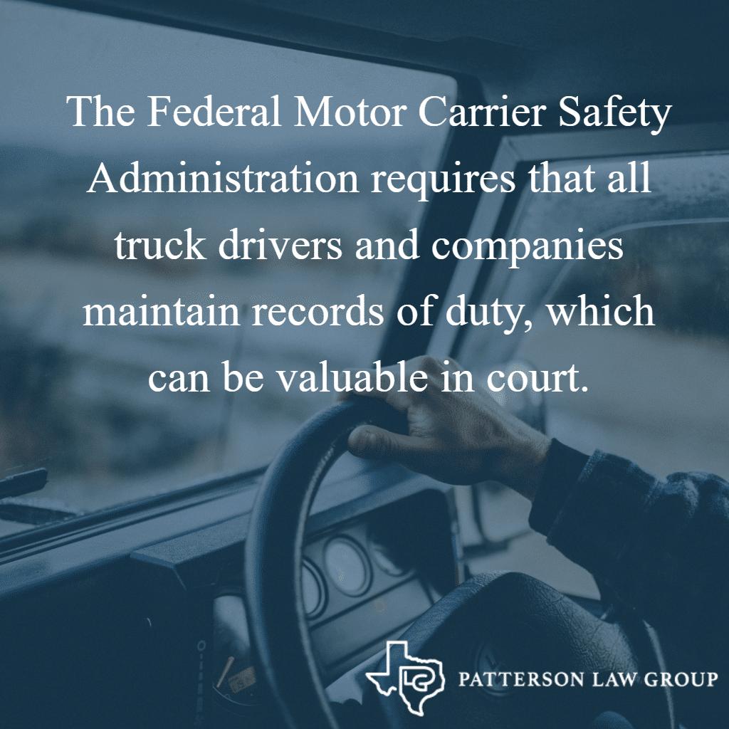 FMCSA Truck Logs Requirement