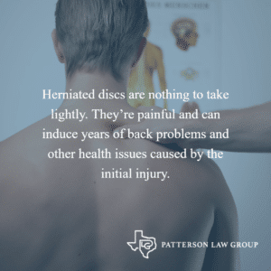 Herniated Disc After An Accident