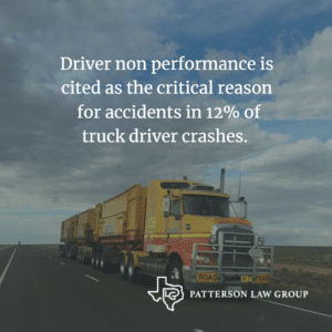Drowsy Driving Truck Accidents