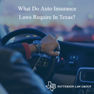 Texas Auto Insurance Laws