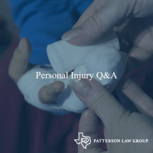 personal injury common questions