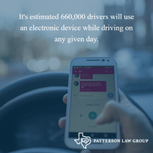 Texas distracted driving