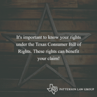 How The Texas Consumer Bill Of Rights Can Benefit Your Car Accident Claim