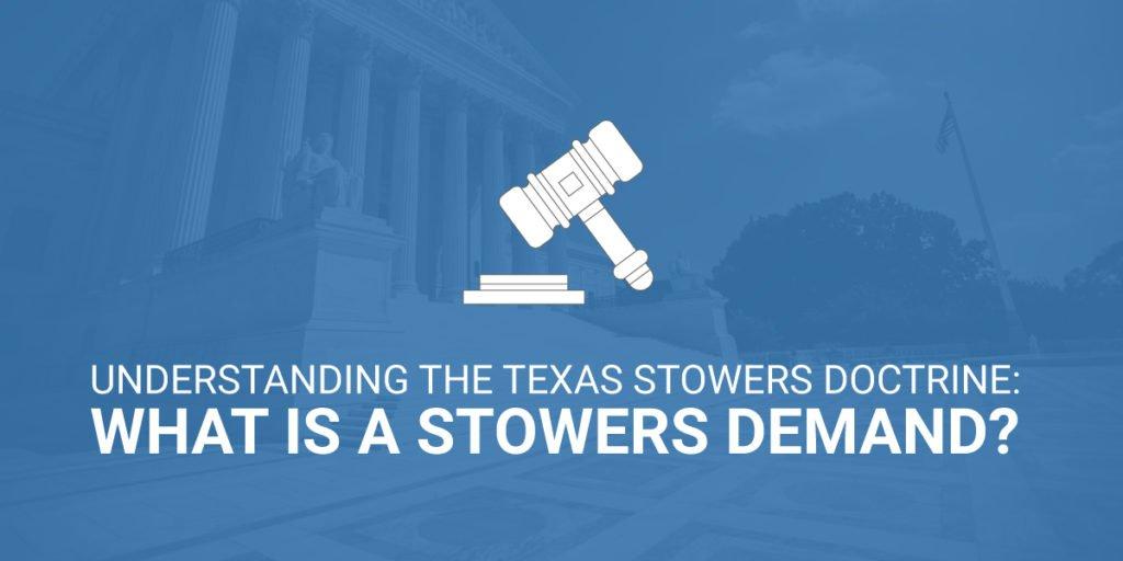 Texas Stowers Doctrine
