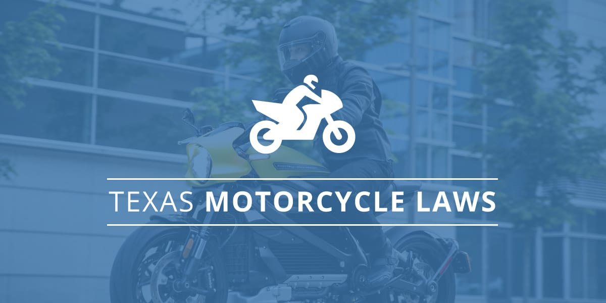 Texas Motorcycle Laws