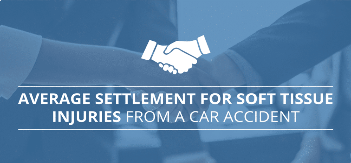 Average Settlement for Soft Tissue Injuries from a Car Accident
