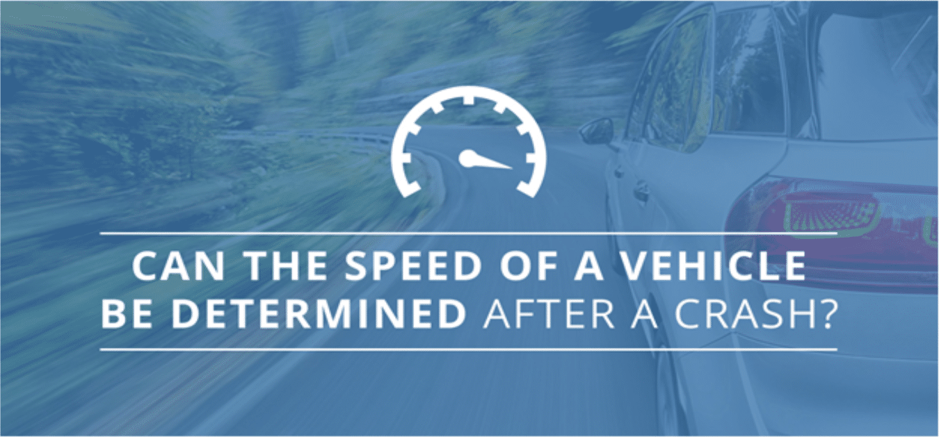 Can the Speed of a Vehicle Be Determined After a Crash