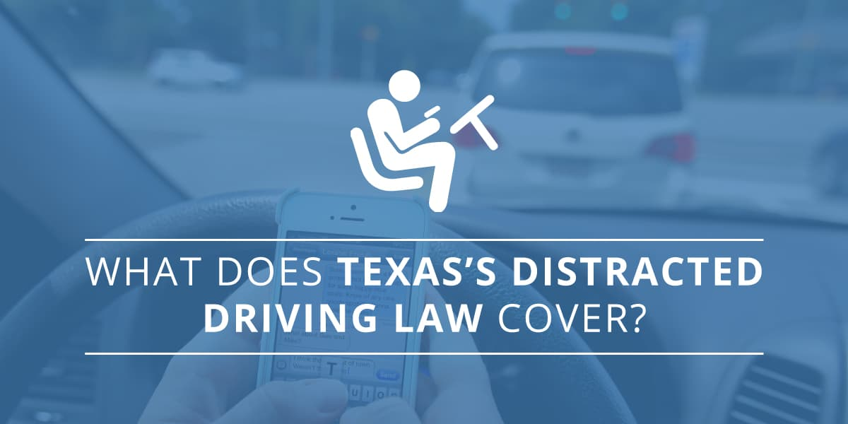 distracted driving texas