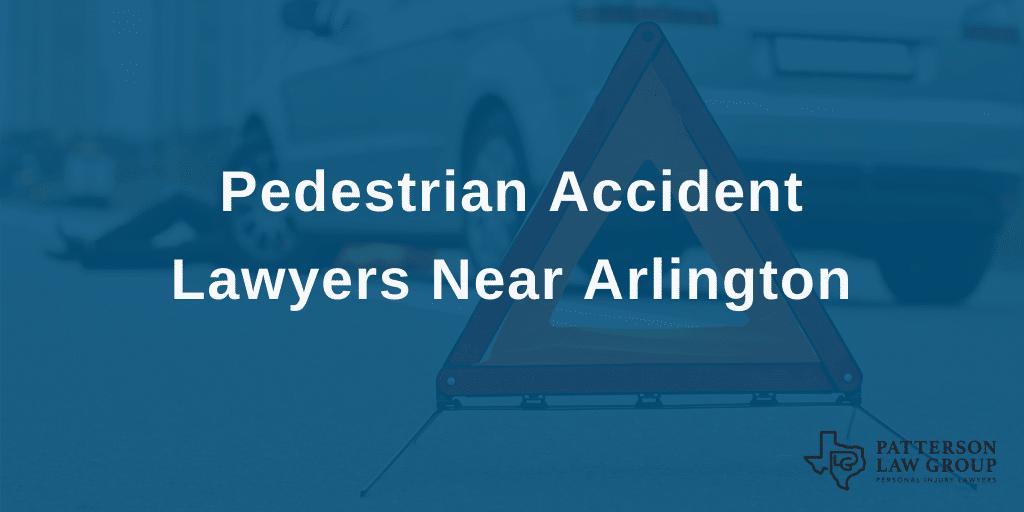 arlington pedestrian accident lawyer