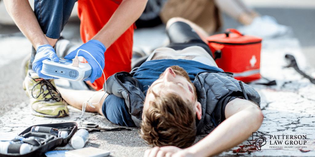 pedestrian accident arlington