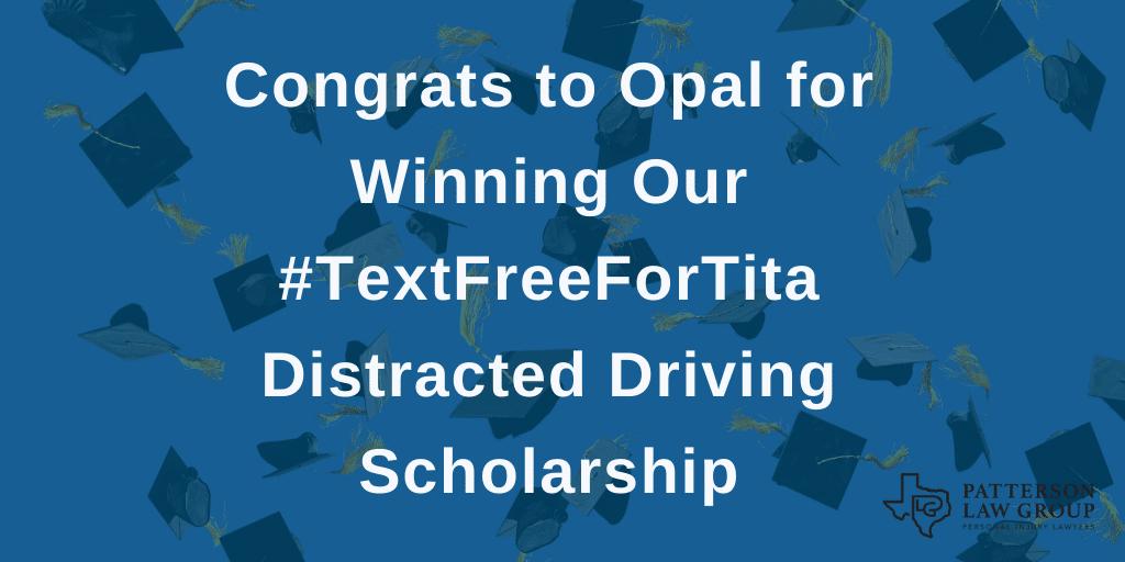 text free for tita scholarship winner