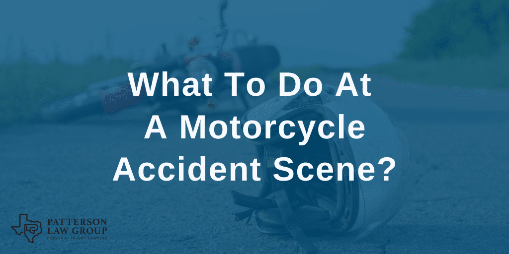 What To Do At A Motorcycle Accident Scene?