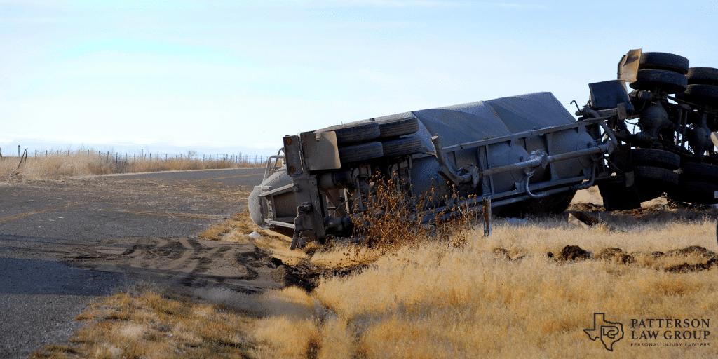 Semi-truck car accident in Texas